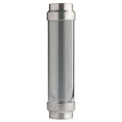 UltraView Clear Tube with Silver Ends