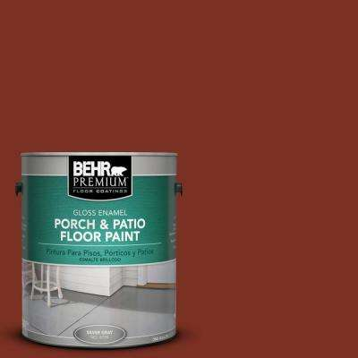 1 gal. #SC-330 Redwood Gloss Porch and Patio Floor Paint