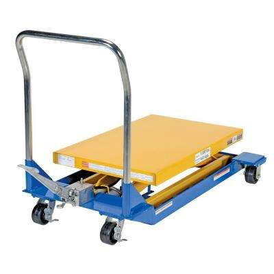 36 in. x 24 in. 1,000 lb. Foot Pump Scissor Cart