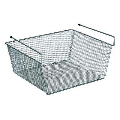 12 in. x 6 in. More Inside Under Shelf Mesh Basket