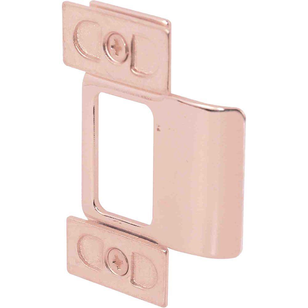 Prime-Line Brass Plated Adjustable Door Strike