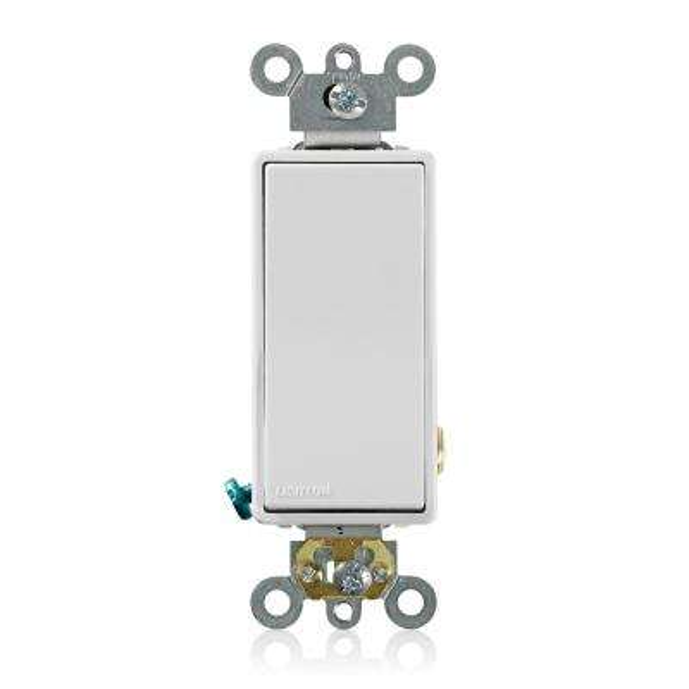 Decora Plus 20 Amp Switch, White