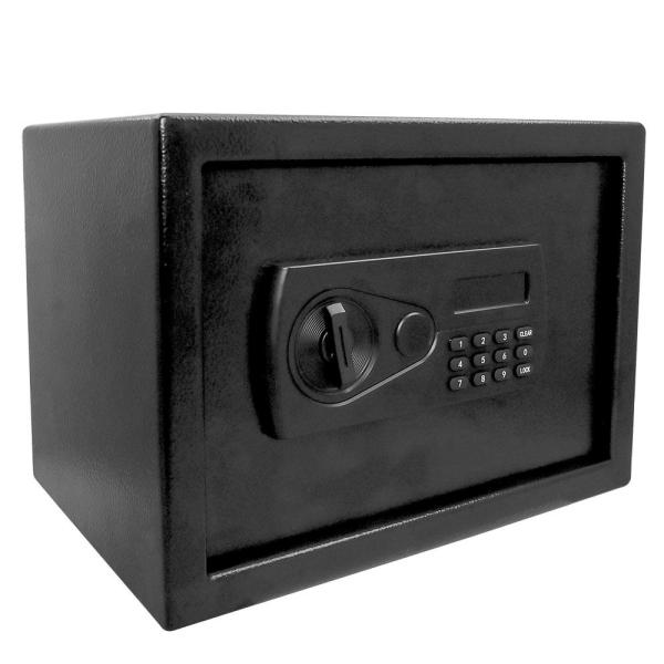 Defiant 0 57 Cu Ft Personal Security Safe With Electronic Lock And Override Key Hdse05 The Home Depot