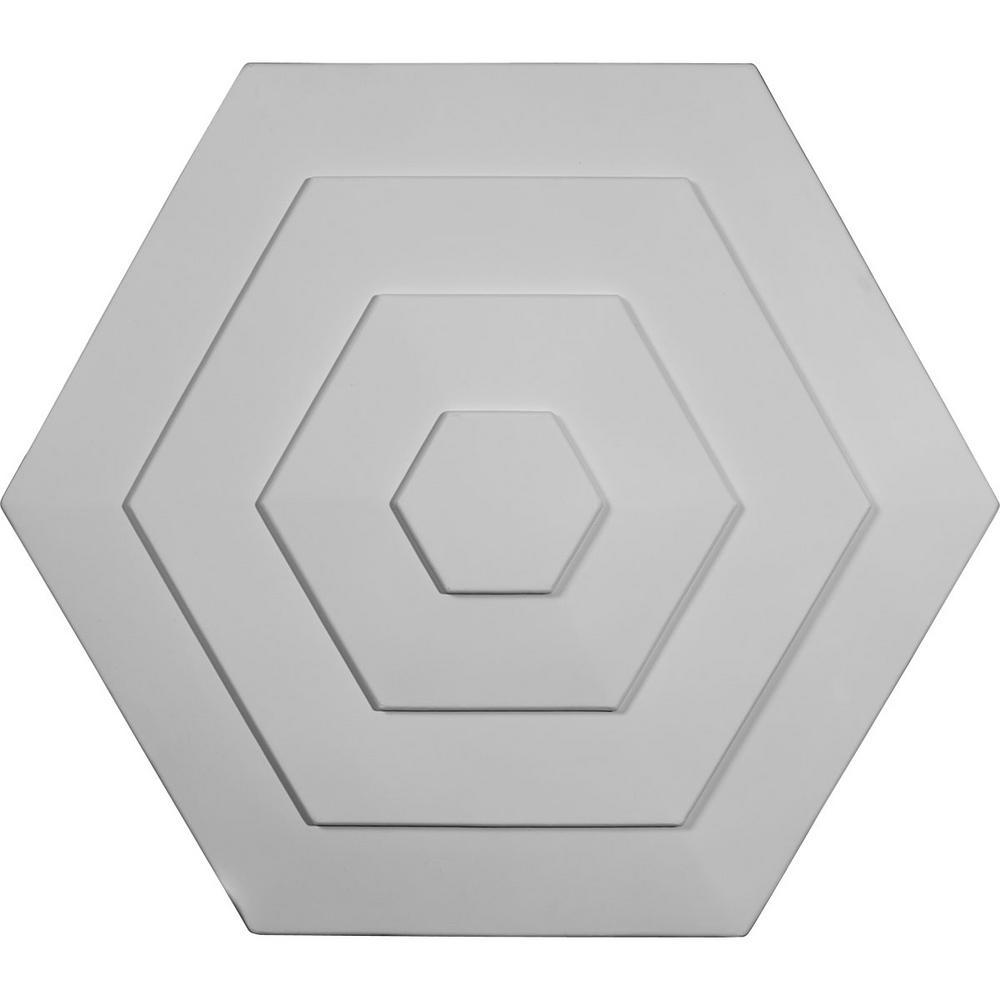 23-1/4 in. OD x 7/8 in. P Woodruff Polyurethane Ceiling Medallion