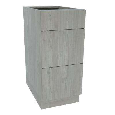 Ready to Assemble Standard 15 in. x 34-1/2 in. x21 in. Drawer Base Cabinet in Grey Nordic Wood