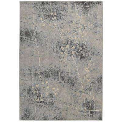 Somerset Silver/Blue 5 ft. x 7 ft. Area Rug