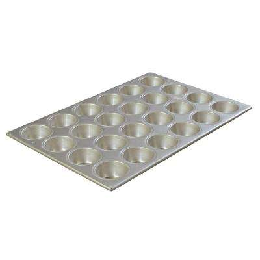 Steeluminum 24-Cup Aluminum Muffin Pan