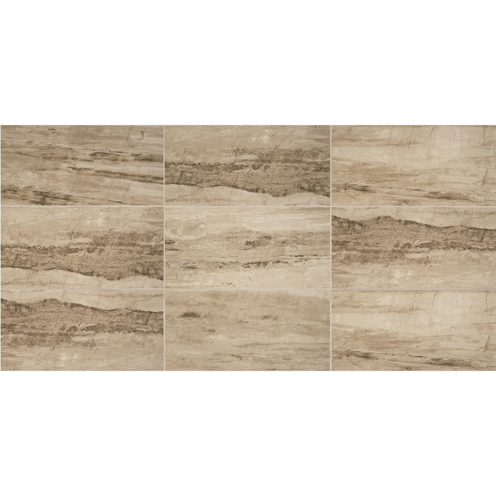 Sanford Desert Sand Polished 12 in. x 24 in. Color Body