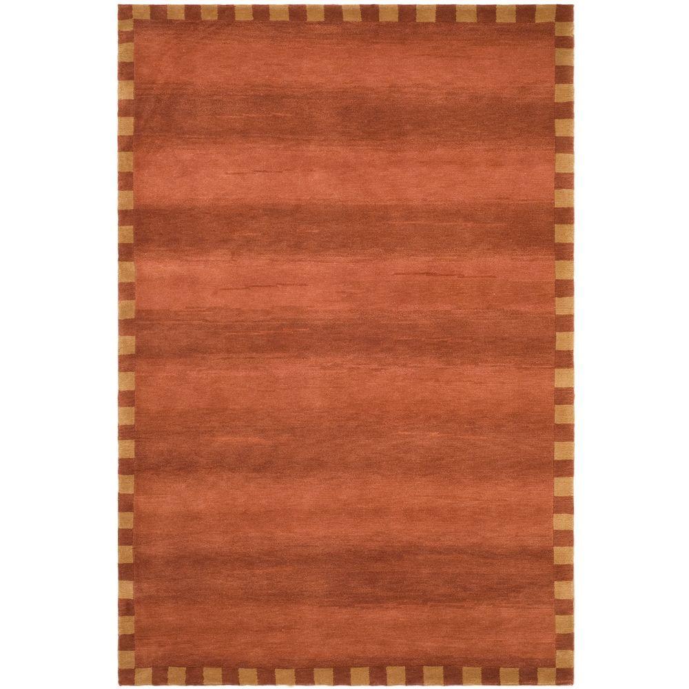 Safavieh Tibetan Rust 8 ft. x 10 ft. Area Rug