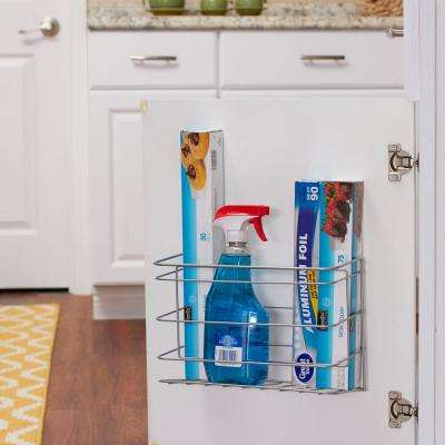Kitchen Wrap Holder/Nickel Door Mount