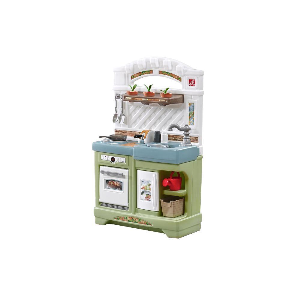 Step2 Garden Fresh Kitchen Playset-853400 - The Home Depot