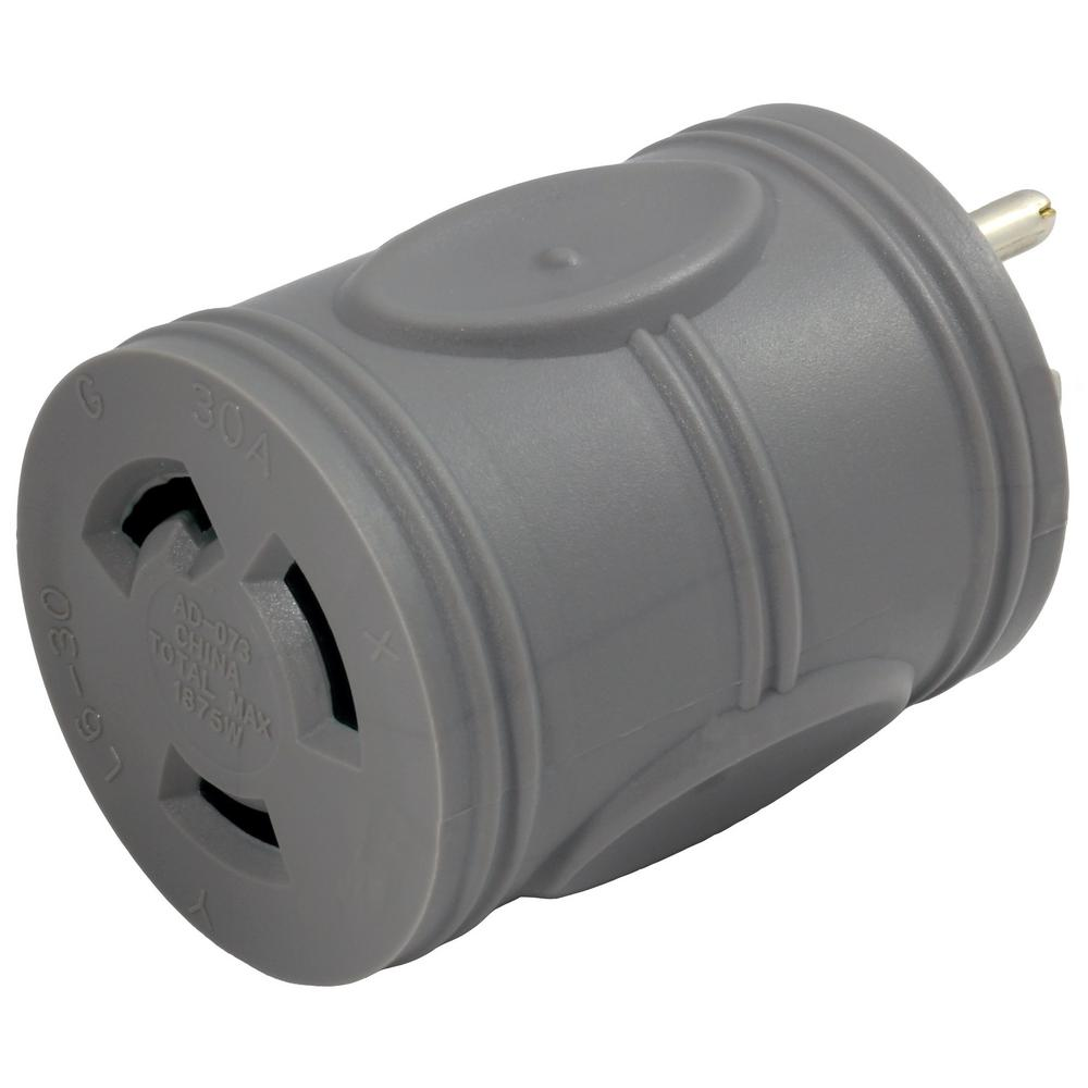 AC WORKS EVSE Upgrade Electric Vehicle Charging Adapter 15 Amp ...