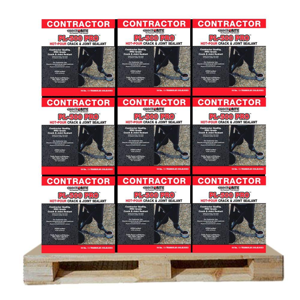 Crack-Rite 50 lbs. PL-500 Hot Pour Direct Fire Joint Sealant (36-Cartons/Pallet )