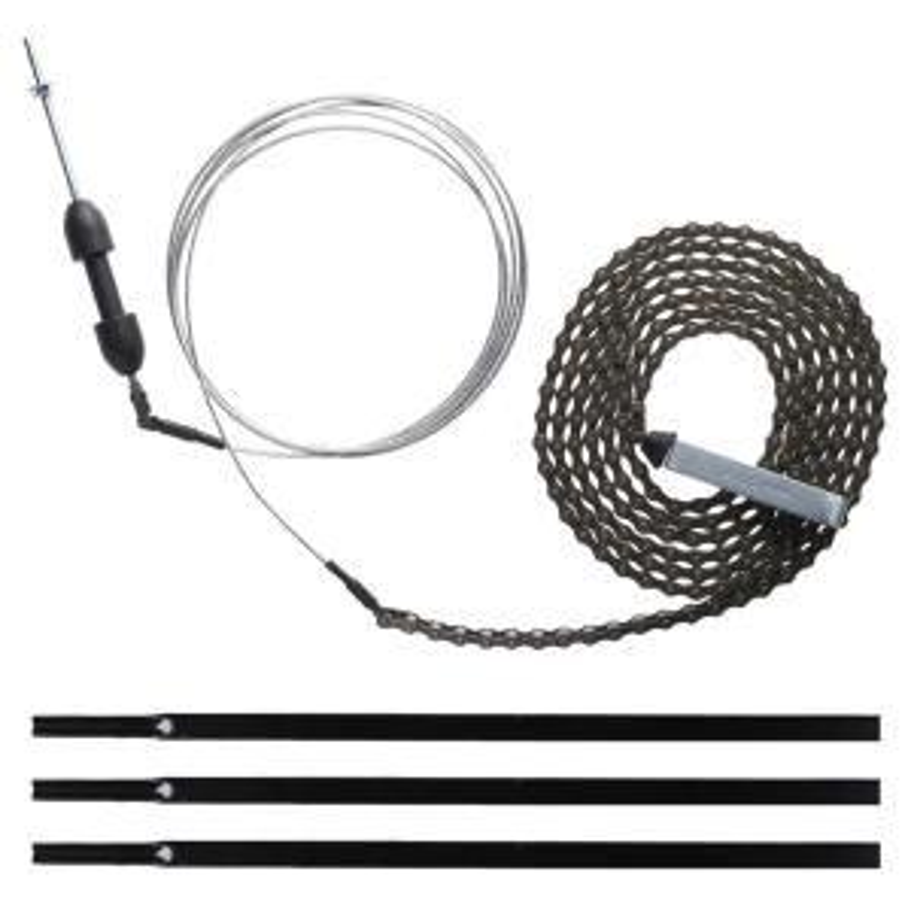 10 ft. Garage Door Chain Drive Extension Kit in Black