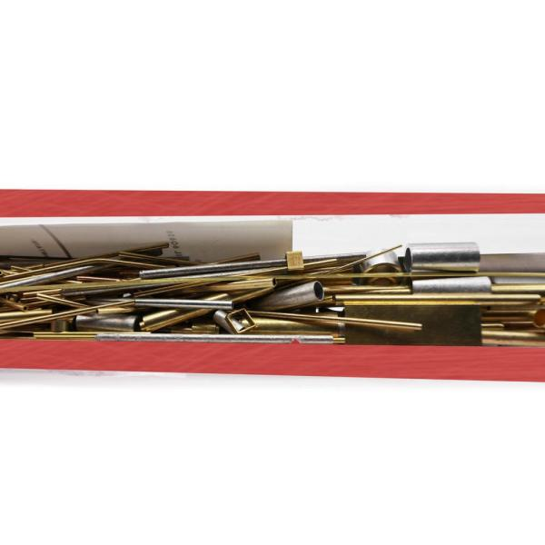 1 Piece per Pack K /& S Precision Metals 3408 Metal Cut-Offs Brass//Copper//Aluminum//Stainless Steel Assortment Made in The USA Four Pack