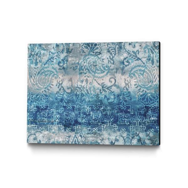 Clicart 16 in. x 20 in. ''Blue Abstract Elegance II'' by