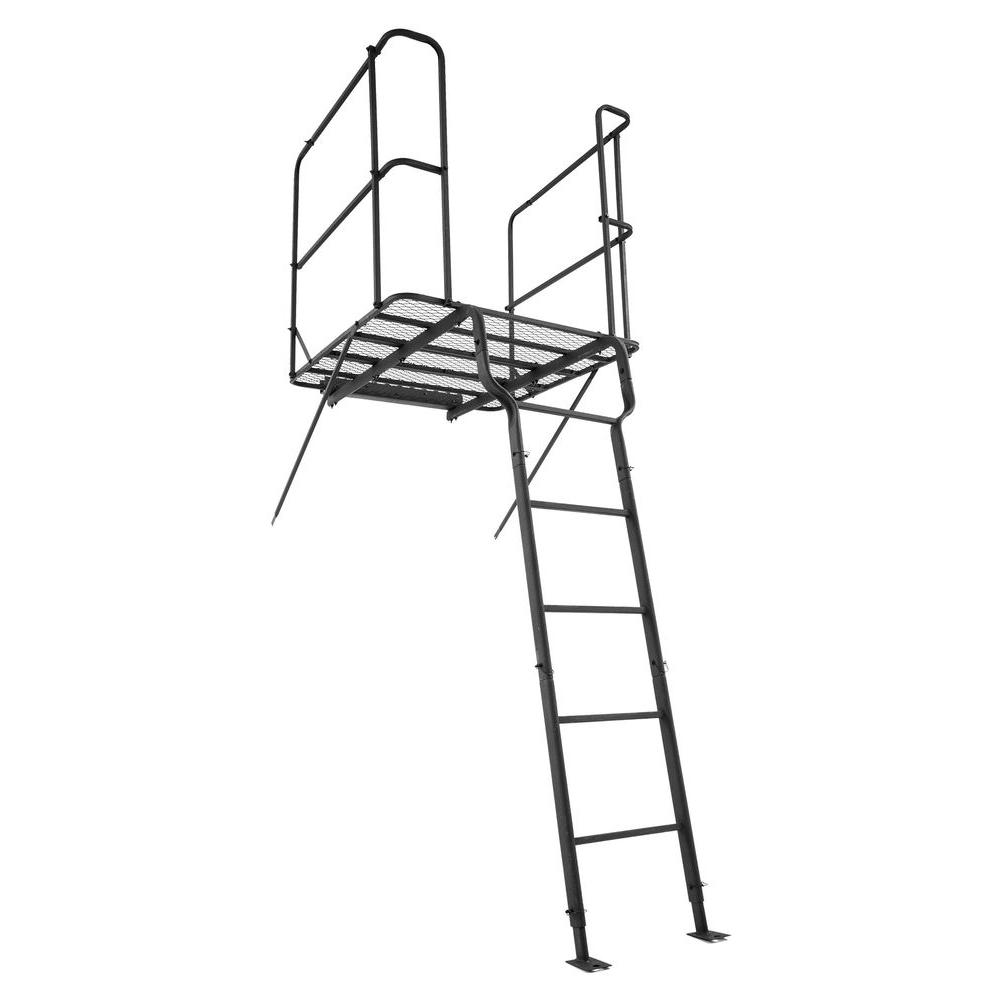 Shadow Hunter Adjustable Ladder Platform Kit Sh33lp The