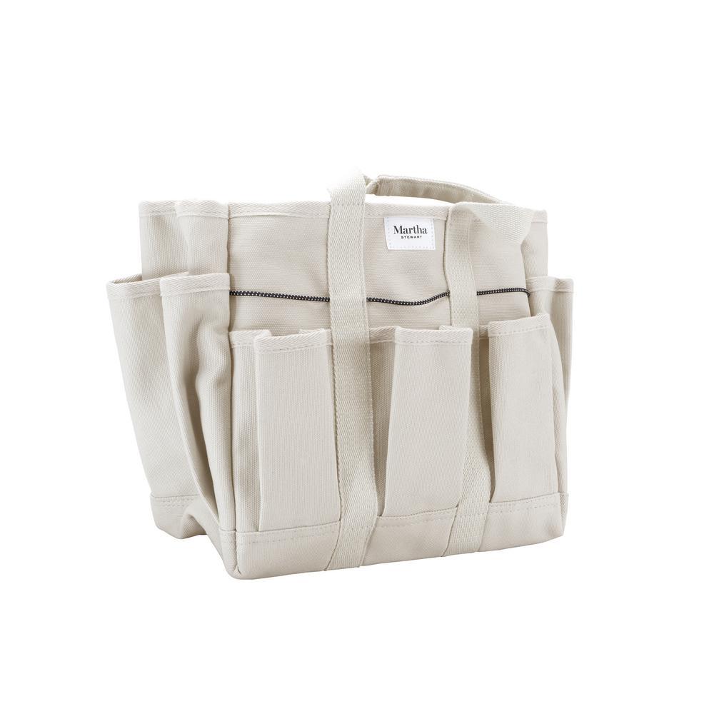 8 in. Heavy-Duty Canvas Garden Bag