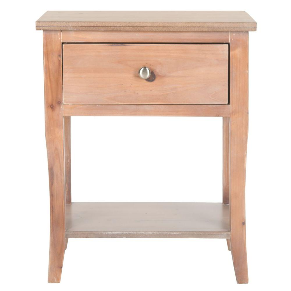 Safavieh Coby Red Maple Storage End Table