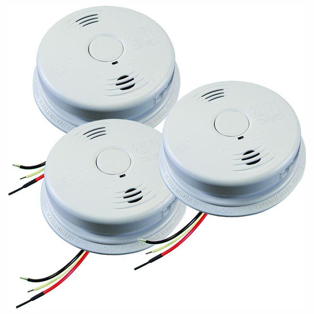 KIDDE i12010SCO Combination Smoke /& Carbon Monoxide Alarm Sealed Lithium Battery