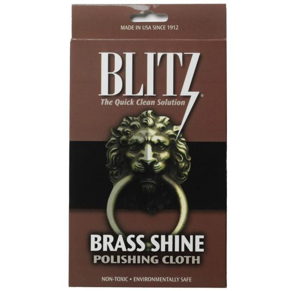 Brass Shine and Polishing Care Cloth