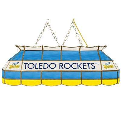 University of Toledo 40 in. Gold Tiffany Light