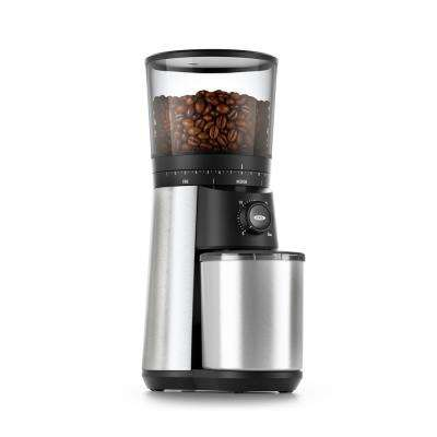 16 oz. Stainless Steel Conical Coffee Grinder with Adjustable Settings