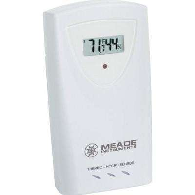 Wireless Remote Temperature and Humidity 3-Channel Sensor with LCD Display
