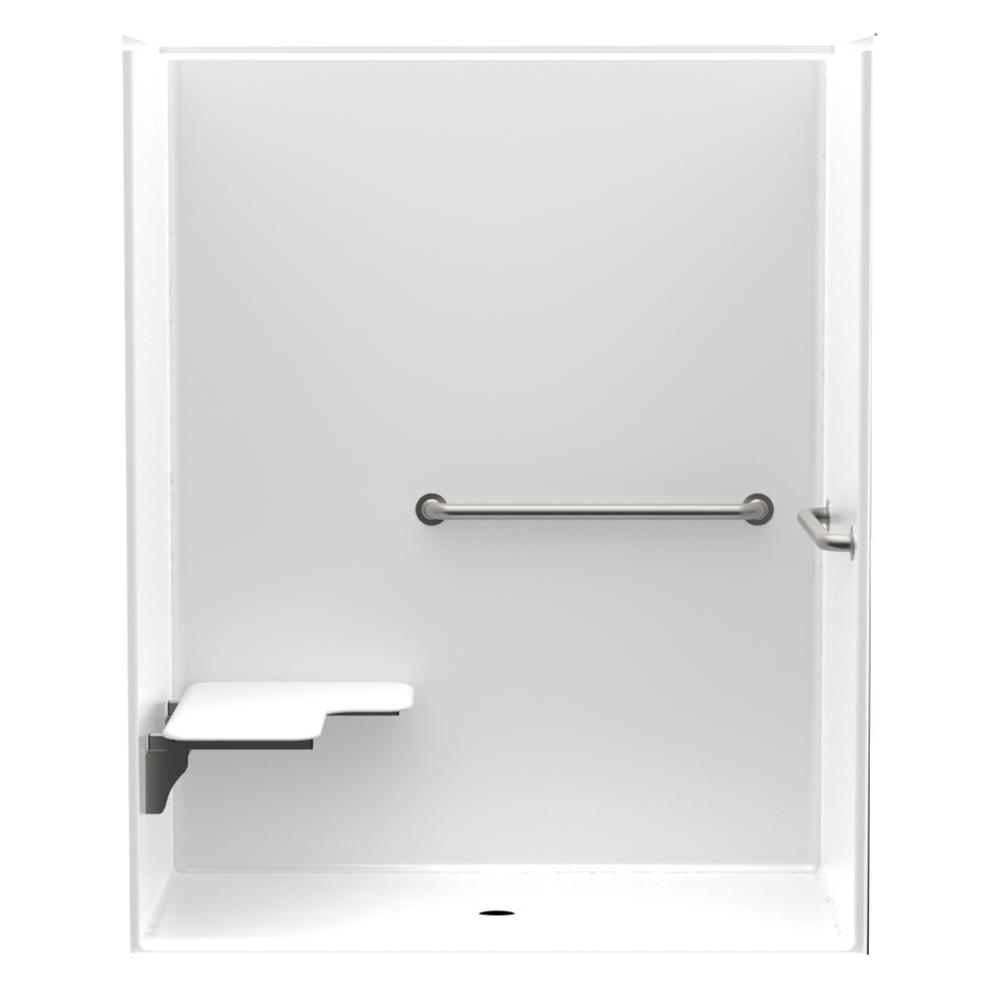 Accessilble Smooth Wall AcrylX 60in. x 34in. x 75 5/8in. 1PC
