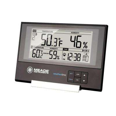 Slim Line Personal Weather Station with Atomic Clock and 145 ft. Sensor