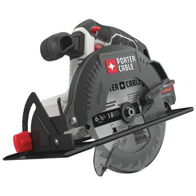 20-Volt MAX Cordless 6-1/2 in. Circular Saw (Tool-Only)