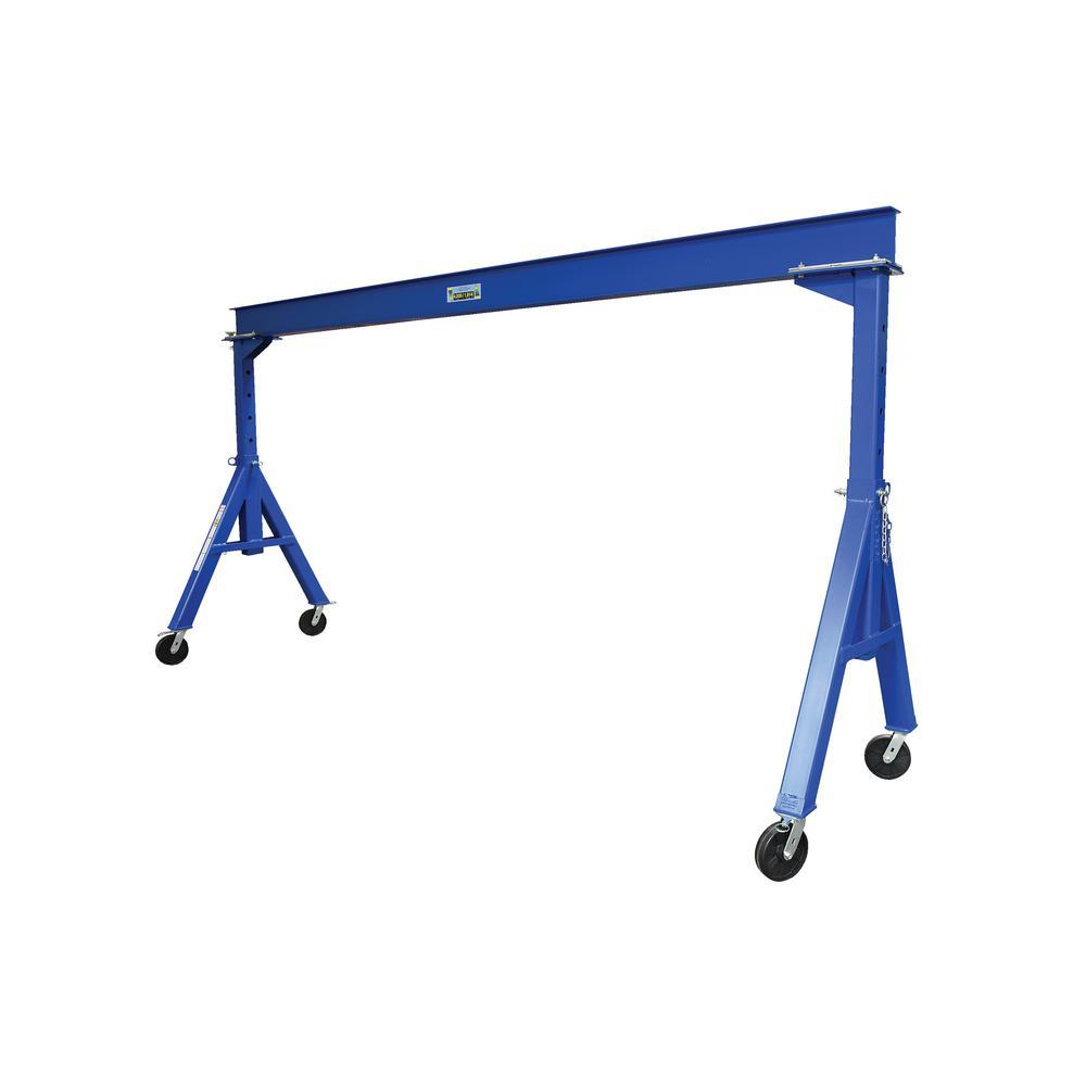 15 ft. x 14 ft. 4000 lb. Adjustable Height Steel Gantry Crane