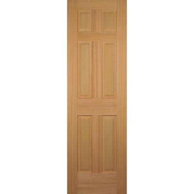 24 in. x 80 in. Hemlock 6-Panel Interior Door Slab