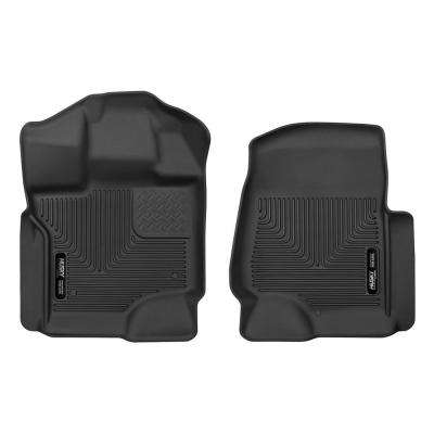 Front Floor Liners Fits 15-18 F150 SuperCrew/SuperCab