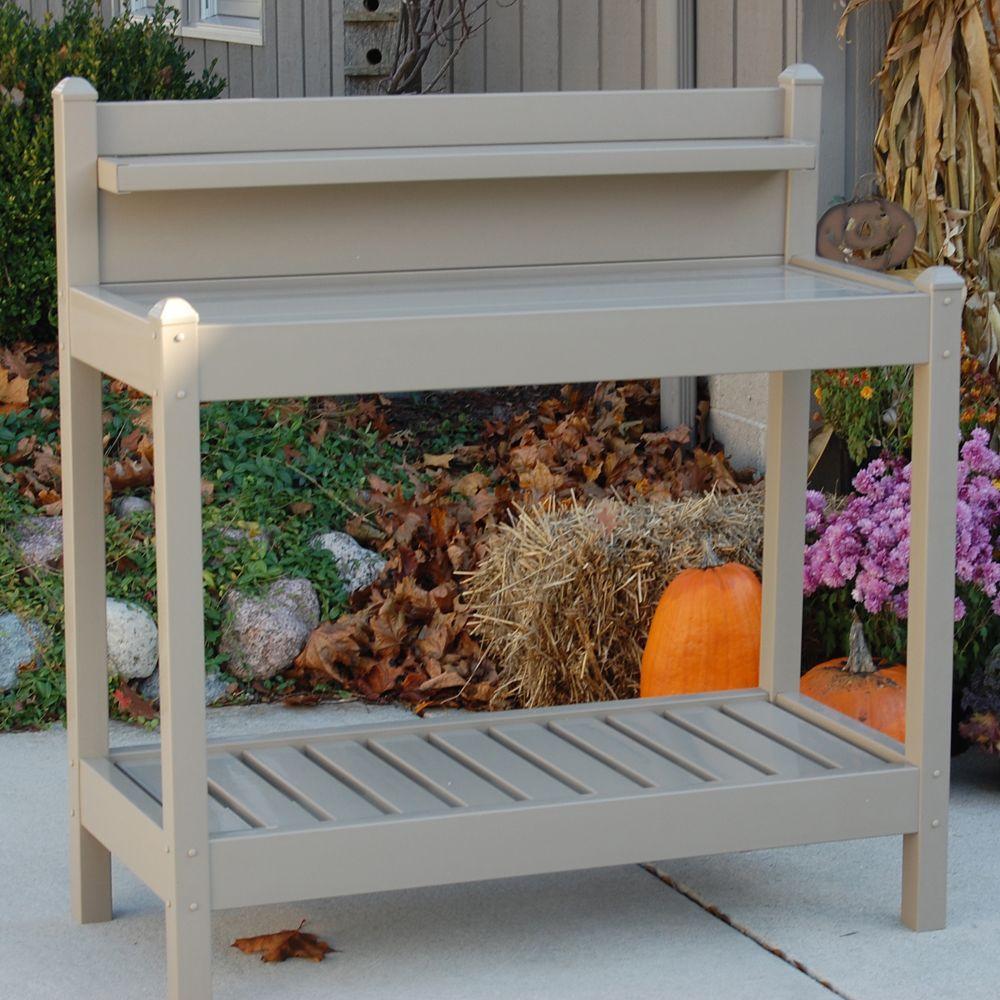 Suncast Portable 33 In X 33 In Resin Garden Cart