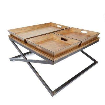 Calhoun Industrial Brown Coffee Table