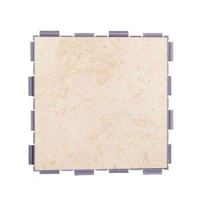 Beige 6 in. x 6 in. Porcelain Floor Tile (3 sq. ft. / case)