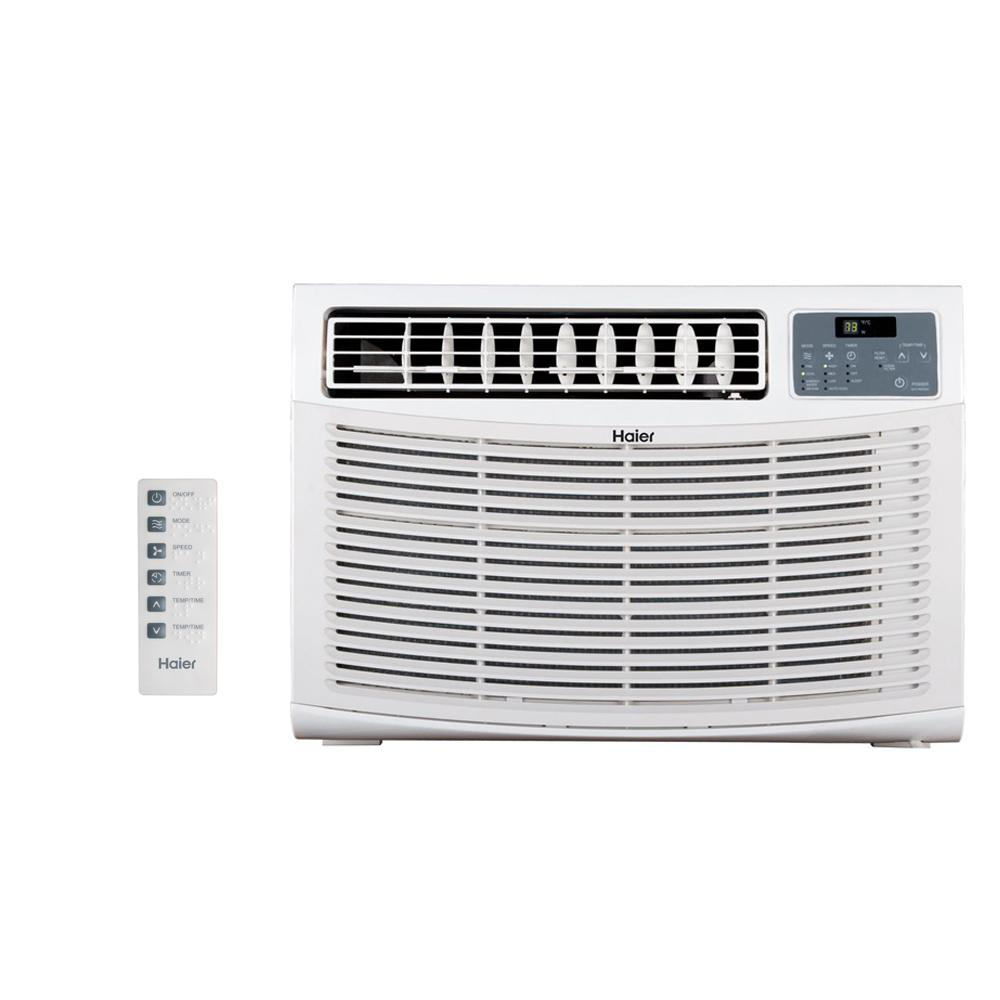 18,000 BTU High Efficiency Window Air Conditioner with Remote
