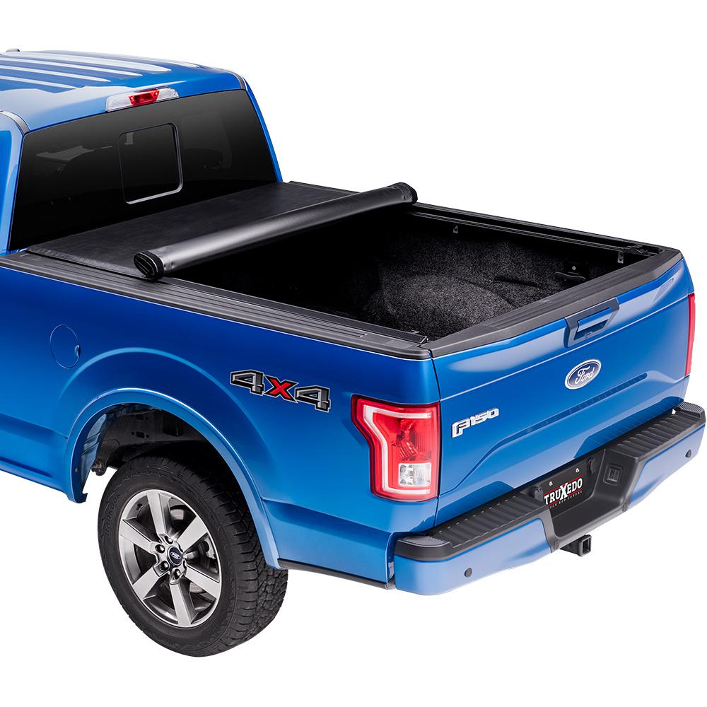 Truxedo Lo Pro Tonneau Cover 01 03 Ford F150 Supercrew 5 Ft 6 In Bed 590601 The Home Depot
