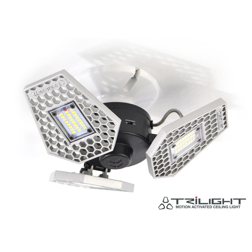 STRIKER TRiLIGHT 3000 Lumen Motion- Sensor Ceiling Light