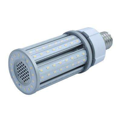 150-Watt Equivalent 36-Watt Corn Cob ED28 HID LED Post Top Bypass Utility Light Bulb Mog 120-277V Daylight 5000K 84007