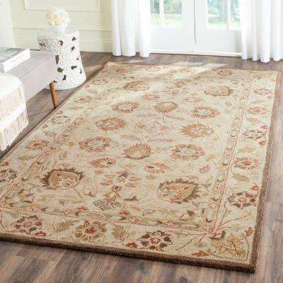 Antiquity Beige 6 Ft X 9 Area Rug