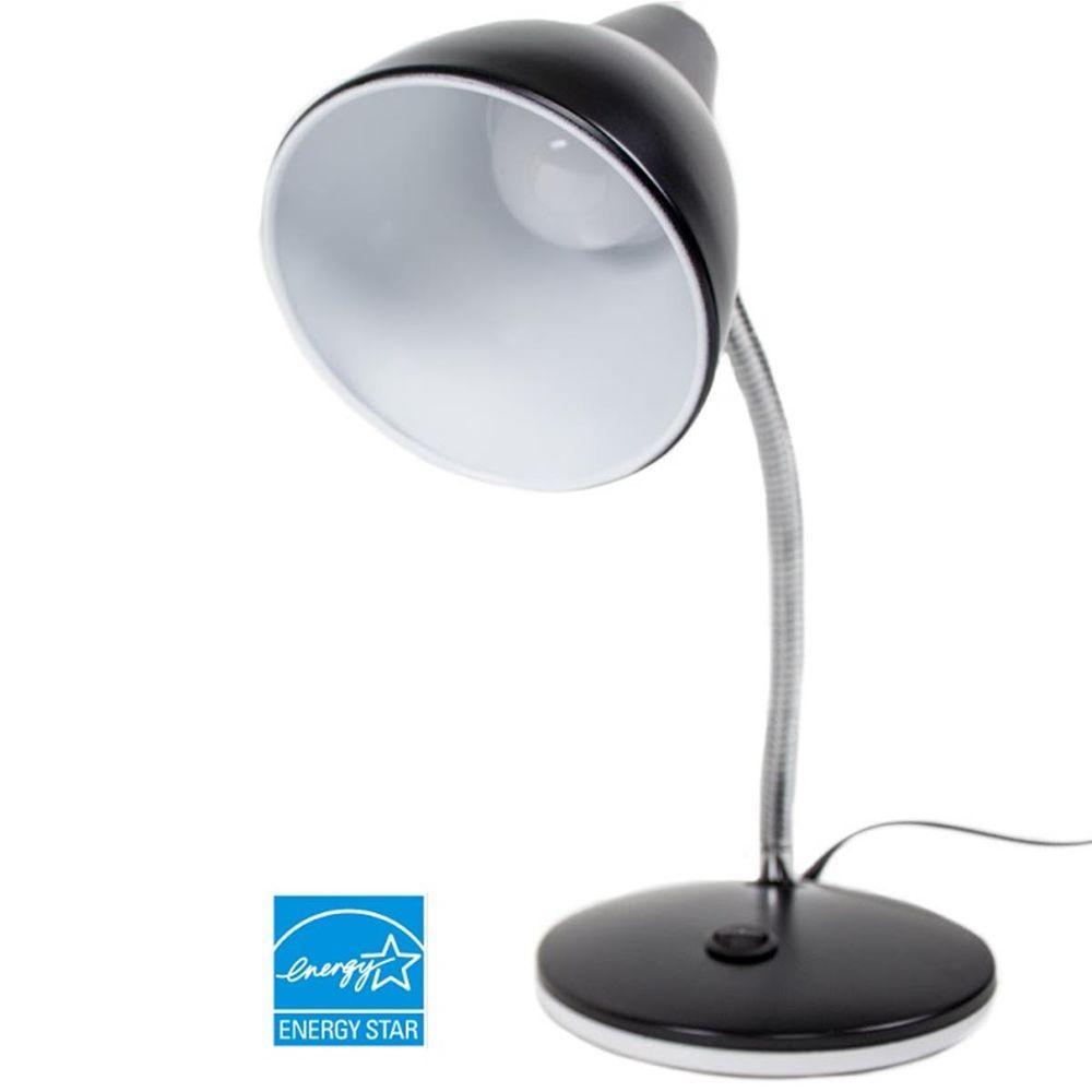 Black Classic Style Led Desk Lamp