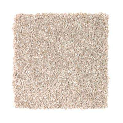 Carpet Sample - Superiority II - Color Burbury Beige Texture 8 in. x 8 in.