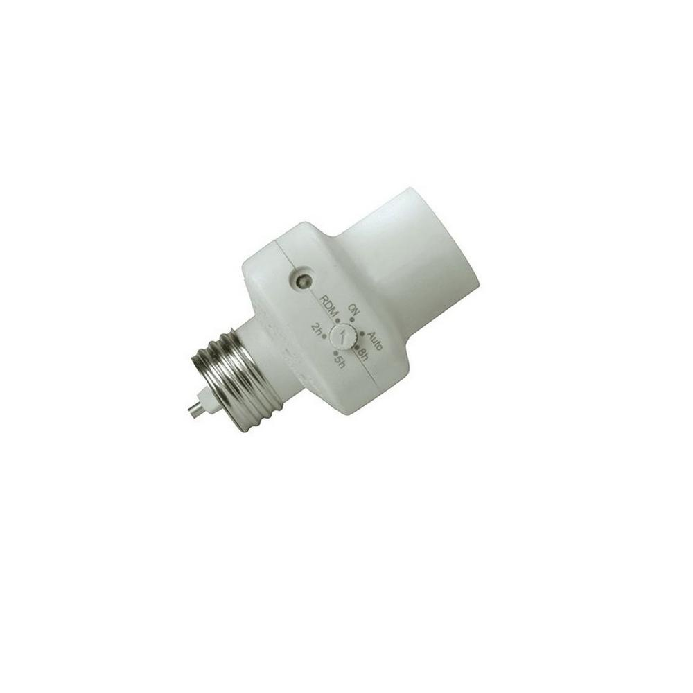 Southwire 2-5-8 Hour Photocell Control Light Socket Timer