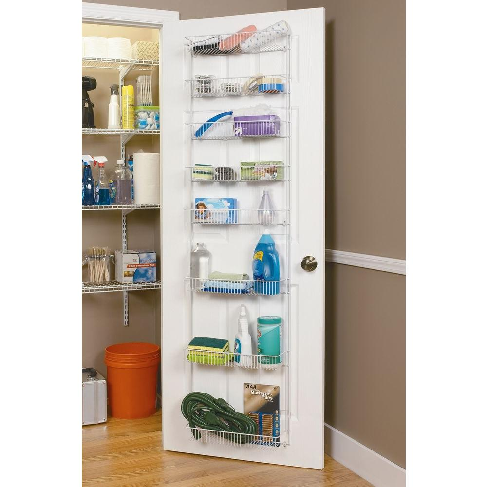 Closetmaid Pantry Door Storage Rack