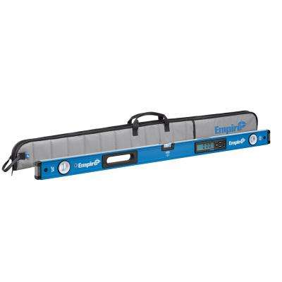 48 in. True Blue Magnetic Digital Box Level with Case