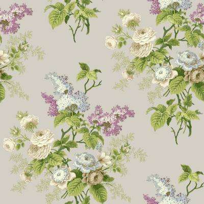 Waverly Cottage Emmas Garden Wallpaper