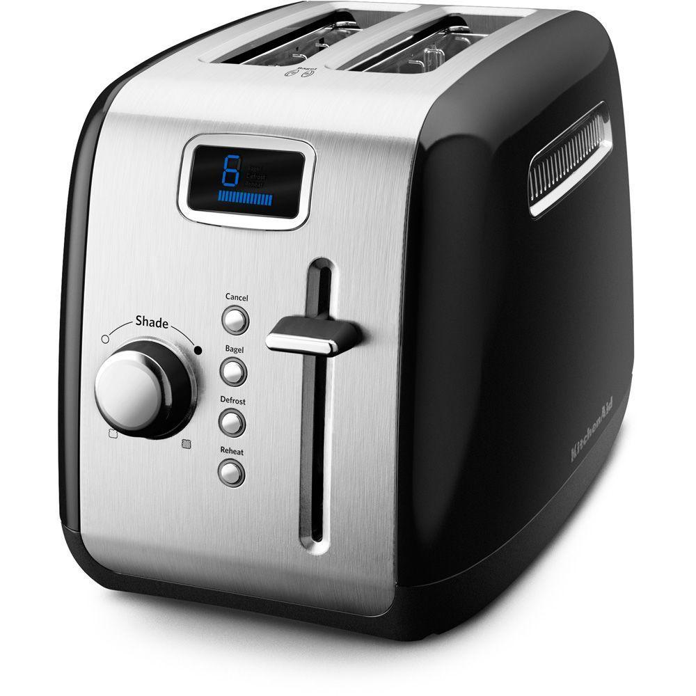 KitchenAid 2-Slice Toaster in Onyx Black