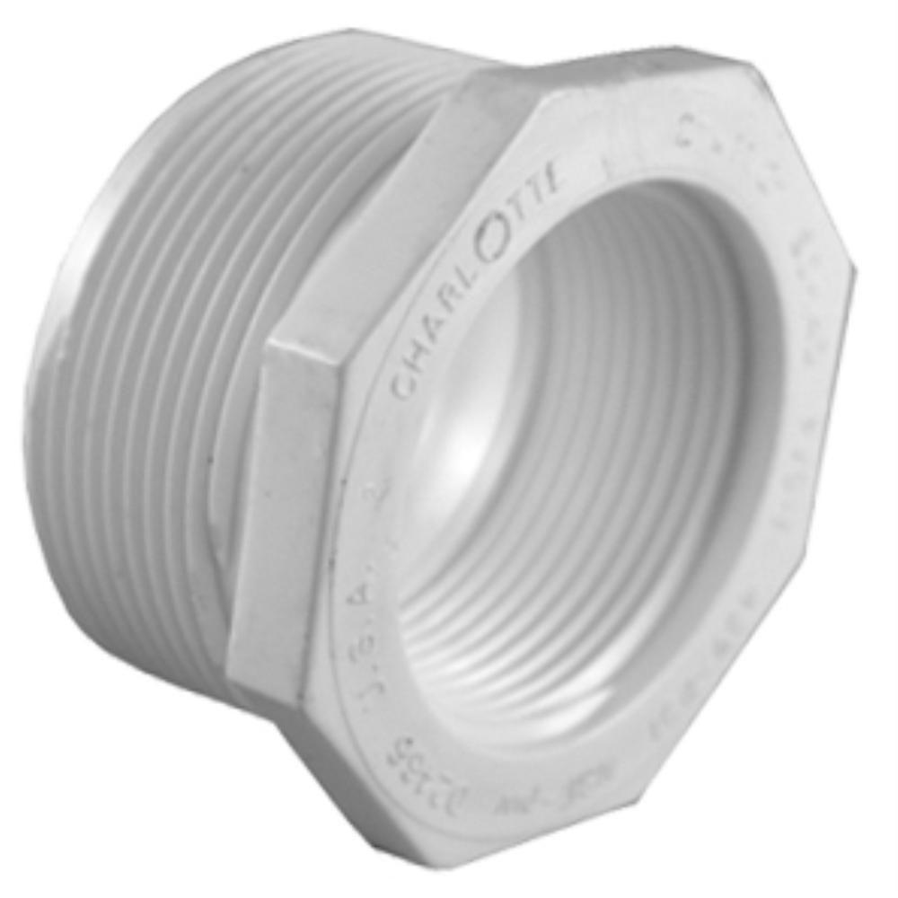 1 in. x 1/2 in. PVC Sch. 40 Reducer Bushing